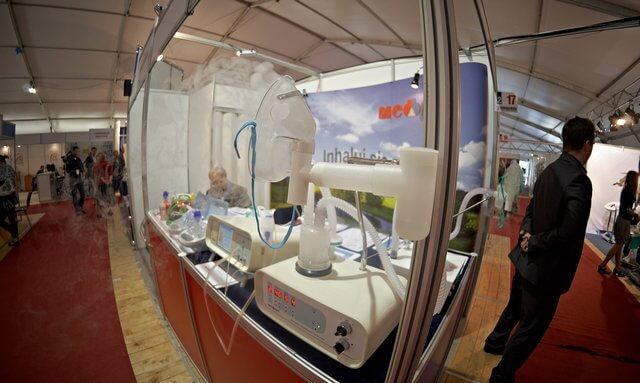 targi rehabilitacyjne łódź 2011, inhalatory