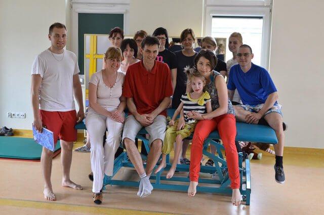vojta, kurs we Wrocławiu, fundacja promyk słońca wrocław, julkaimy, rehabilitacja, terapia,