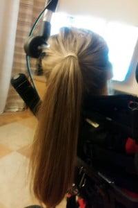 włosy, julkaimy, czesanie, porażenie niepełnosprawni
