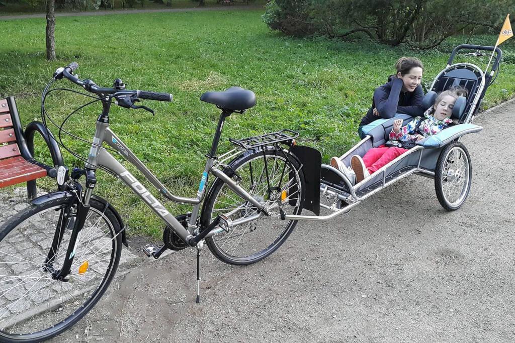 Wycieczka rowerowa, kozlik max country benecykl
