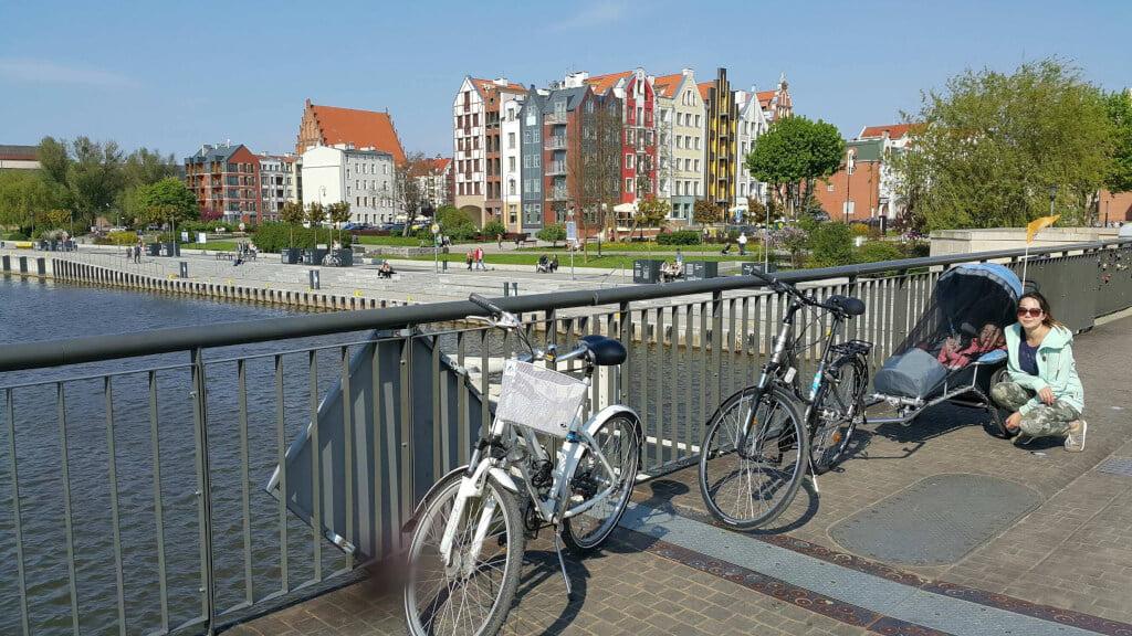 Benecykl, wózek rowerowy, przyczepka rowerowa