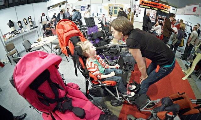 targi rehabilitacji łódź 2011 wózek rehabilitacyjny convaid