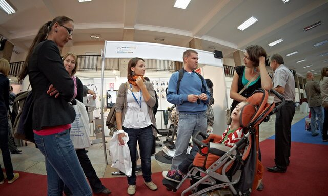 targi rehabilitacji Łódź 2011 rotor