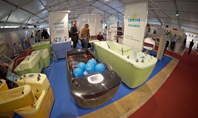 targi rehabilitacyjne łódź 2011, wanny, hydromasaż